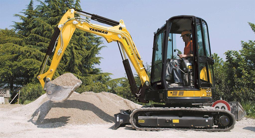 Construction Machinery | Yanmar Excavators | Mawsley Machinery